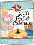 Gooseberry Patch - 2016 Pocket Planner Calendars