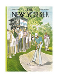 The New Yorker Cover - May 13, 1974 Premium Giclee Print by Charles Saxon