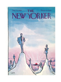The New Yorker Cover - May 24, 1969 Premium Giclee Print by Charles Saxon