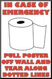 In Case of Emergency II Mounted Print by Russ Lachanse