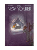 The New Yorker Cover - January 19, 1957 Premium Giclee Print by Edna Eicke