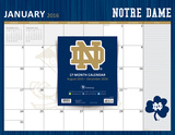 University of Notre Dame - 2016 17 Month Blotter Calendar Calendars