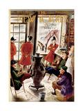 The New Yorker Cover - November 8, 1952 Regular Giclee Print by Constantin Alajalov