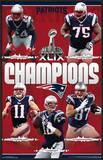 Super Bowl XLIX Champions - New England Patriots Print