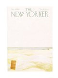 The New Yorker Cover - March 27, 1965 Regular Giclee Print by James Stevenson