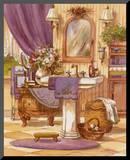 Victorian Bathroom II Mounted Print by Jerianne Van Dijk