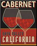 Cabernet Mounted Print