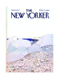 The New Yorker Cover - June 20, 1977 Regular Giclee Print by Gretchen Dow Simpson