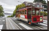 Cable Car in San Francisco Stretched Canvas Print