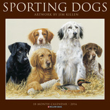 Sporting Dogs (Jim Killen) - 2016 Calendar Calendars