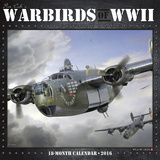 Warbirds of WWII - 2016 Calendar Calendars