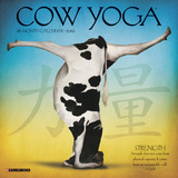 Cow Yoga Mini - 2016 Mini Calendar Calendars