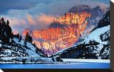 Monte Civetta Dolomites Italy Stretched Canvas Print
