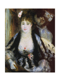 The Theatre Box, 1874 Giclee Print by Pierre-Auguste Renoir