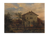 The House of Carus in Pillnitz, Um 1835 Giclee Print by Carl Gustav Carus