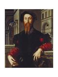 Bartolomeo Panciatichi, C. 1540 Giclée-tryk af Agnolo Bronzino