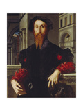 Bartolomeo Panciatichi, C. 1540 Giclée-Druck von Agnolo Bronzino