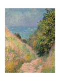 The Path of La Cavée at Pourville, 1882 Giclee Print by Claude Monet