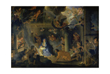 Adoration of the Shepherds, 1689 Giclee Print by Charles Le Brun