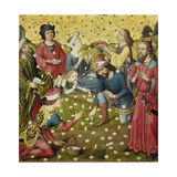 The Gathering of Manna Giclee Print by Dieric Umkreis Bouts
