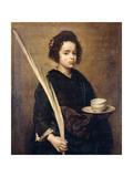 Saint Rufina Giclée-Druck von Diego Velázquez