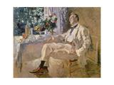 Portrait of the Singer Fjodor Schaljapin, 1922 Giclee Print by Alexejew Konstantin Korovin
