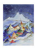 Winter in the Mountains 2001 Giclee Print by Annette Bartusch-Goger