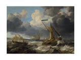 Sea Scene, 1640 Reproduction procédé giclée par Camille Pissarro
