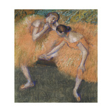 Two Dancers, C. 1898 Giclee Print by Edgar Degas