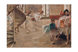 The Rehearsal Giclee Print by Edgar Degas