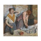 The Laundresses, 1884-86 Giclee Print by Edgar Degas