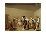 Dining and Celebrating Party, C. 1640 Giclee Print by Anthonie Palamedes