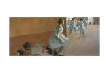 Dancers Ascending a Staircase, C. 1886-1888 Giclee Print by Edgar Degas