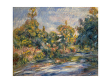 Landscape with a River Giclee Print by Pierre-Auguste Renoir