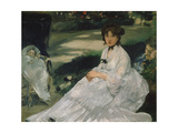 In the Garden, 1870 Giclee Print by Edouard Manet