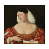 Female Portrait Giclee Print by Bernardino Licinio