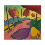 Landscape, Murnau, 1909 Giclee Print by Alexej Von Jawlensky