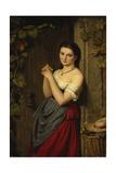 The Marguerite, 1864 Giclée-Druck von Benjamin Vautier