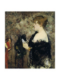 At the Milliner's (La Modiste), 1881 Giclee Print by Edouard Manet