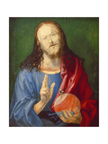 Christo Salvator Mundi (Unfinished), C. 1501-04 Giclee Print by Albrecht Dürer