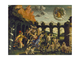 Victory of Virtue over Vice Giclee Print by Andrea Mantegna