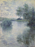 The Seine at Vetheuil, 1879 Giclee Print by Claude Monet