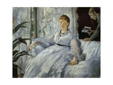 The Reading, Mme, Manet and Her Son, Léon Koella-Leenhoff, 1869 Prints by Edouard Manet