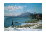 Winterly Lake Tahoe Giclee Print by Albert Bierstadt