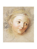 The Head of a Boy Giclee Print by Antoine Coypel