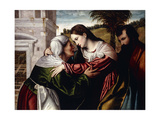 The Visitation Giclee Print by Alessandro Bonvicino