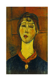 Portrait of Madame Blanche Dorivale Giclee Print by Amadeo Modigliani