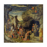 Adoration of the Kings (Centre Panel) Posters by Andrea Mantegna