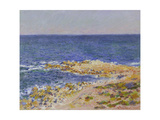 La Grande Bleue a Antibes, 1888 Giclee Print by Claude Monet