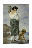 At the Beach, 1870 Giclee Print by Anselm Feuerbach